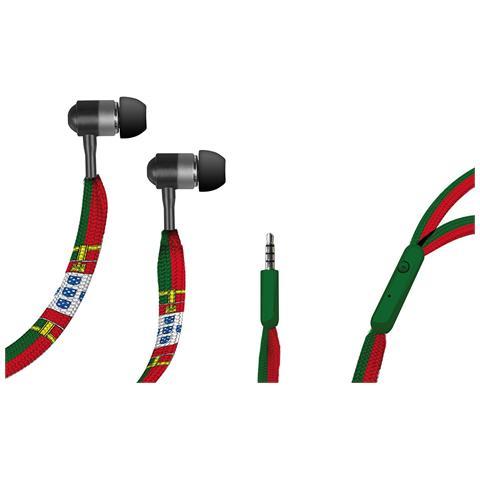 """SBS TECARIOCAPOR, Stereofonico, Interno orecchio, Multicolore, Cablato, PTT, 3.5 mm (1/8"""")"""