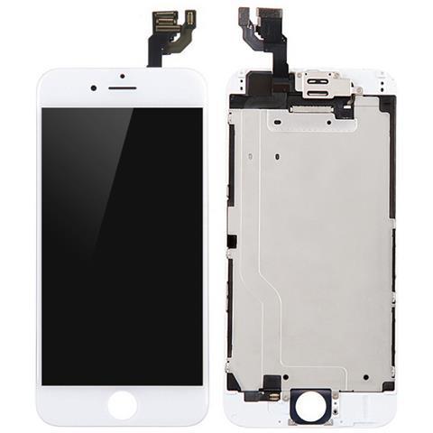 Image of MOBX-DFA-IPO6-LCD-W Display Bianco 1pezzo (i) ricambio per cellulare