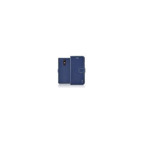 FONEX Identity Book Custodia a Libro per Lg K9 Colore Blue