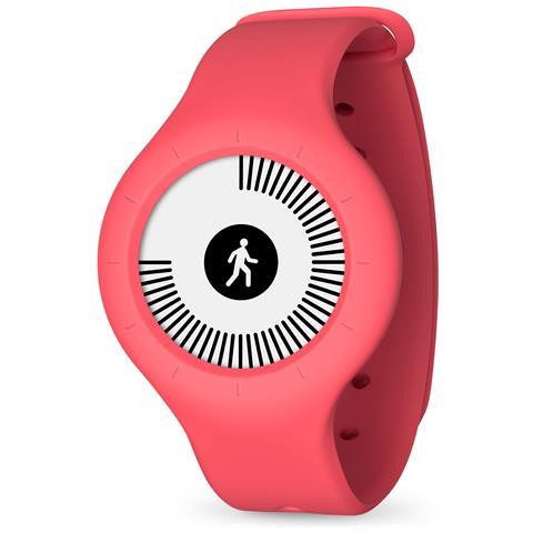 NOKIA Orologio GO Rosso Smart Tracker Nuoto e Sonno connessione Bluetooth per Android e iOS
