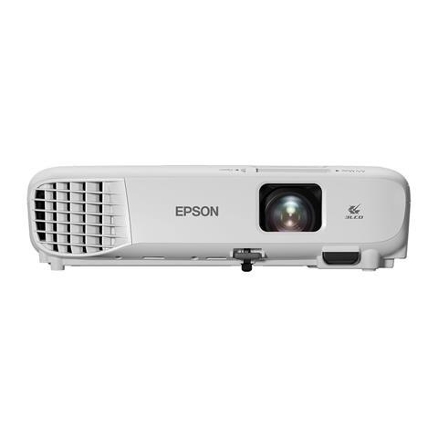 EPSON Proiettore EB-W05 3300 ANSI lumen Rapporto Contrasto 30000: 1 WUXGA 1280 x 800 Pixel Colore Bianco