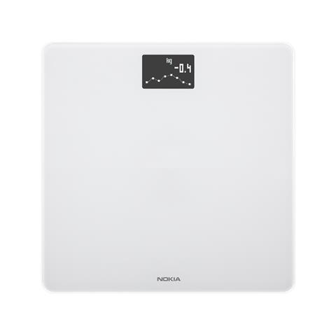 NOKIA Bilancia BODY Colore Bianco Connettività Bluetooth e WiFi