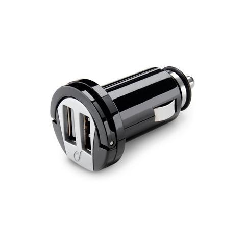 CELLULAR LINE Carica Batteria Usb Car Charger Dual - Nero