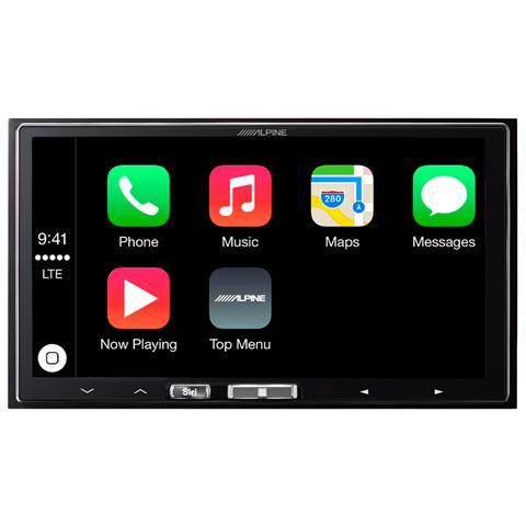 ALPINE Sintomonitor con Sistema di Navigazione ILX-700 Supporto Apple CarPlay USB