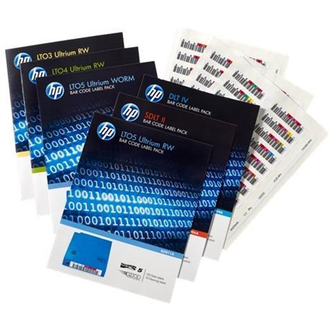 E RW Bar Code Label Pack - Etichette per codici a barre
