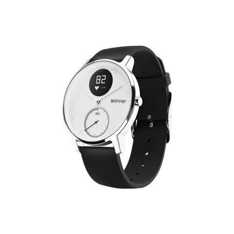 NOKIA Orologio Steel HR Bluetooth da 36 mm con Monitoraggio Frequenza Cardiaca Bianco - Europa