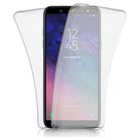 FONEX cover in TPU fronte e retro specter per Samsung Galaxy a6+ 2018 trasparente