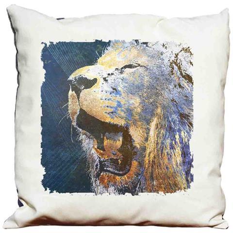 Cuscino Decorativo Psychedelic Lion