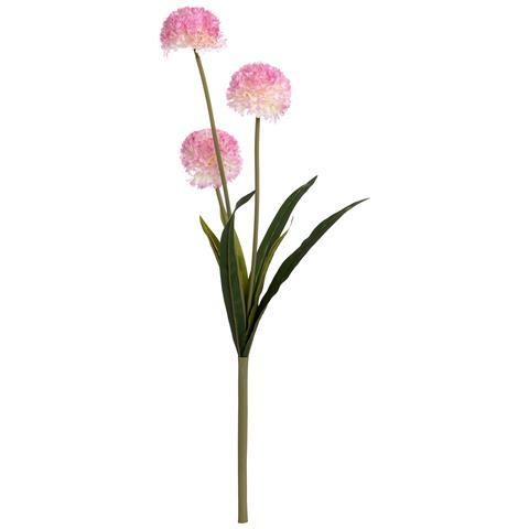 Dalie Artificiali Su Stelo (taglia Unica) (rosa)