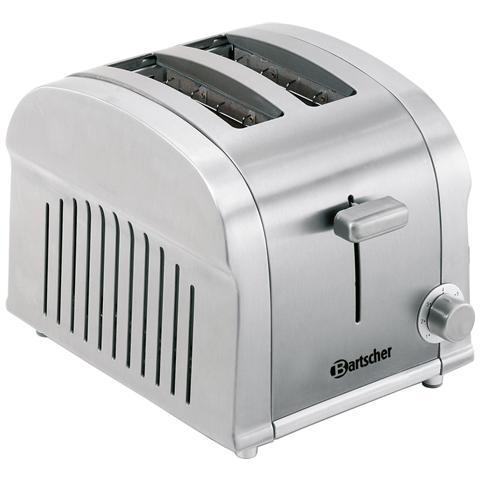 100201 Tostiera elettrica Silverline 900W 2 toast 0.85 kW