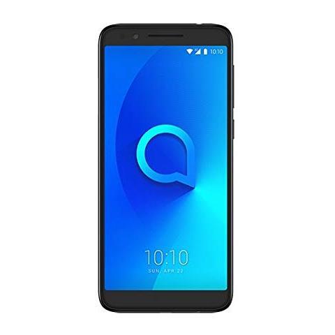 """ALCATEL 3L Nero Metallizzato 16 GB 4G / LTE Dual Sim Display 5.5"""" HD+ Slot Micro SD Fotocamera 13 Mpx Android Italia"""