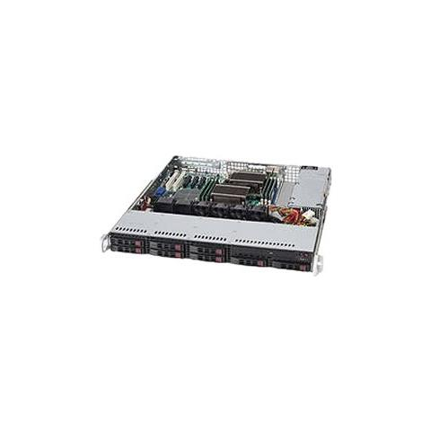 Image of Case CSE-113TQ-600CB Server Rack 1U S ATX / Micro-ATX