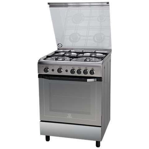 Cucina a Gas I6GG1F (X) / I 4 Fuochi Forno a Gas Dimensioni 60 x 60 cm Colore Inox