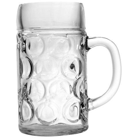 Bicchieri In Vetro Birra Con Manico Don 2pinte Lt1