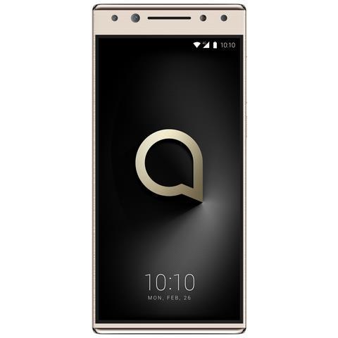 """ALCATEL 5 Oro 32 GB 4G / LTE Dual Sim Display 5.7"""" HD+ Slot Micro SD Fotocamera 16 Mpx Android Italia"""