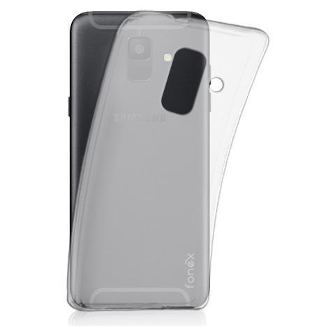 FONEX cover in TPU pixel per Samsung Galaxy a6 2018 trasparente