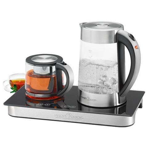 PC-TKS 1056 Macchina da Caffè e Tè Capacità 1.7 Litri / 1.2 Litri Potenza 2000-2250 Watt Acciaio Inox