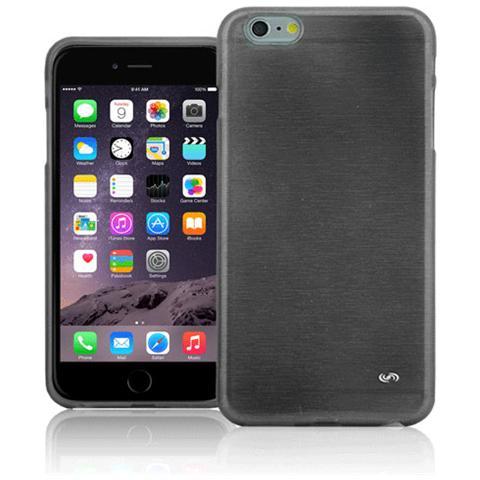 FONEX Perla Cover in Morbido TPU con Effetto Madreperla per iPhone 6 Plus / 6S Plus Colore Nero
