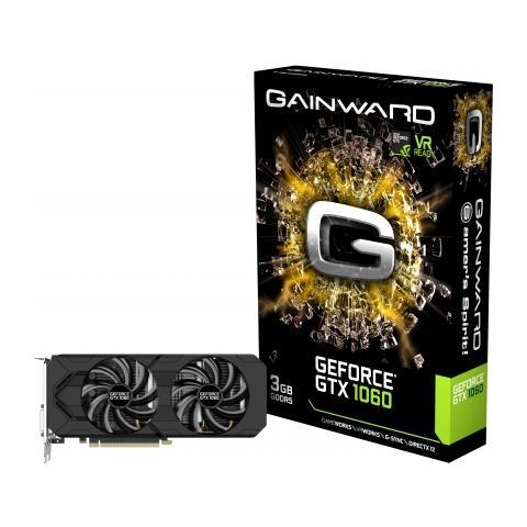 Image of GeForce GTX 1060 3 GB GDDR5 Pci-E DisplayPort x 3 / HDMI / DL-DVI-D