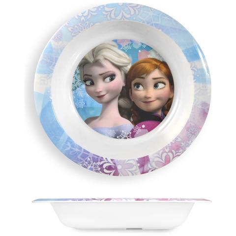 HOME Piatto Melamina Disney Frozen Fondo Cm21 Stoviglie