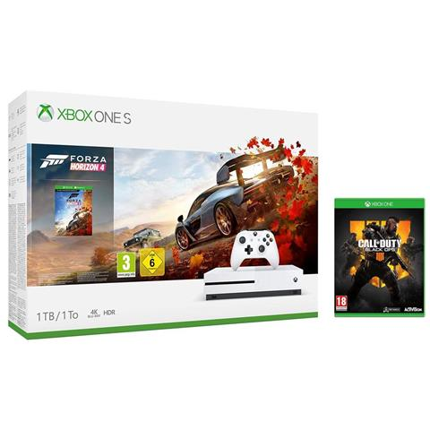 Image of Console Xbox One S 1 TB + Forza Horizon 4 + Call of Duty Black Ops 4 Limited Bundle