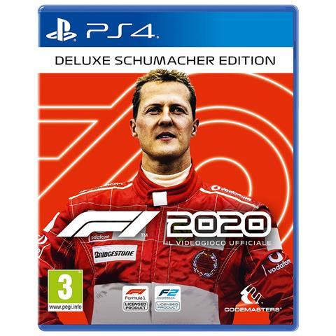 KOCH MEDIA PS4 - F1 2020 Deluxe Schumacher Edition