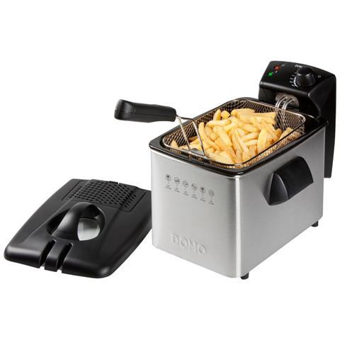 Friggitrice Fryer Capacità 4 Litri 2000 Watt Colore Argento