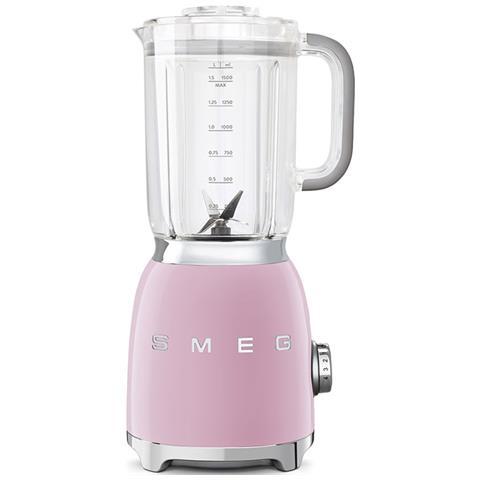 BLF01PKEU Frullatore Estetica Anni '50 Capacità 1.5 Litri Potenza 800 Watt Colore Rosa