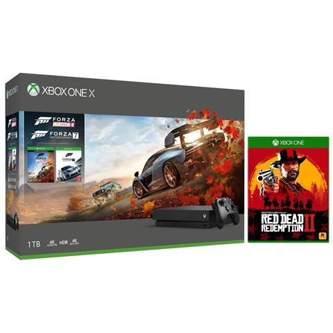 Image of Console Xbox One X 1TB + Forza Horizon 4 + Red Dead Redemption 2 Limited Bundle