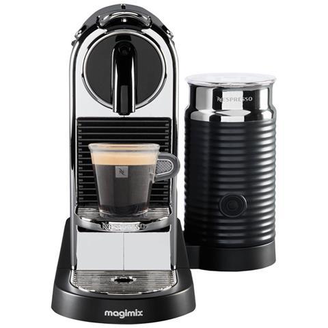 Nespresso Citiz e latte Chrome 11318