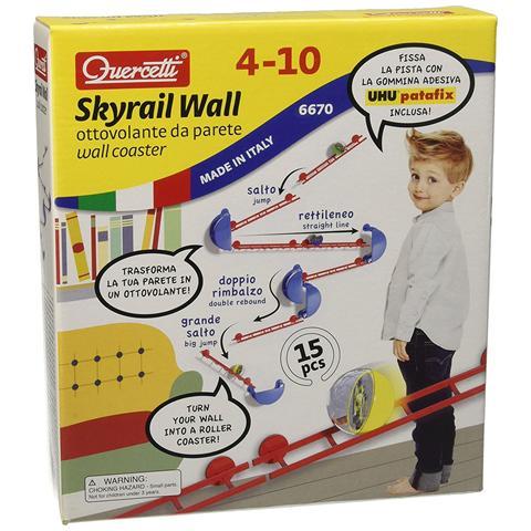 QUERCETTI Pista Skyrail Wall Ottovolante Da Parete
