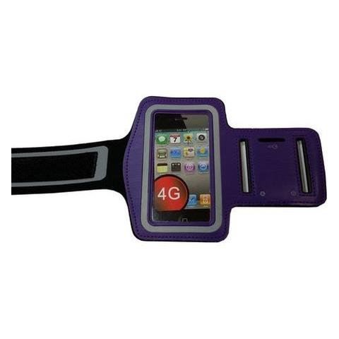 NetworkShop Custodia Fascia Da Braccio Sport Armband Viola Per Iphone 4/4s / 3g / 3gs / ipod Touch