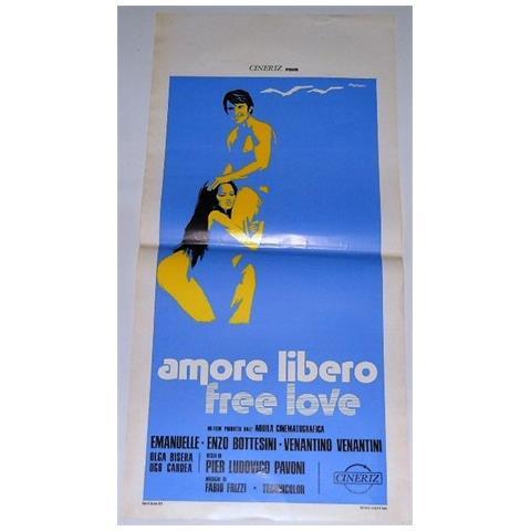 Vendilosubito Locandina Originale Del Film Amore Libero 1974
