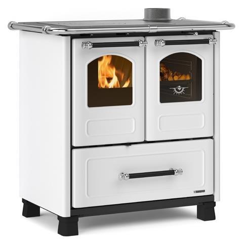 Cucina a legna Family Potenza Termica Nominale 6,5 kW 186 m3 Riscaldabili Colore Bianco