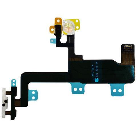 MICROSPAREPARTS MOBILE MOBX-IP6-INT-8 Switch flex cable Nero 1pezzo (i) ricambio per cellulare