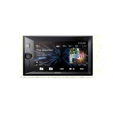 SONY Sintolettore DVD XAVV631BT Bluetooth Potenza 4 x 55W Supporto DVD / Xvid / CD / Mp3 / Jpeg / WMC / AAC / WAV / FLAC / USB / AUX Nero