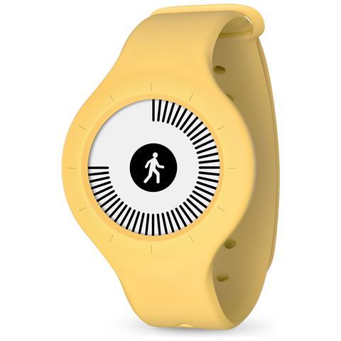NOKIA Orologio GO Giallo Smart Tracker Nuoto e Sonno connessione Bluetooth per Android e iOS