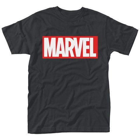 PHM Marvel Comics - Logo (T-Shirt Unisex Tg. L)