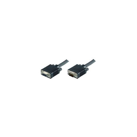 Microconnect SVGA HD15 10m VGA (D-Sub) VGA (D-Sub) Nero cavo di interfaccia e adattatore