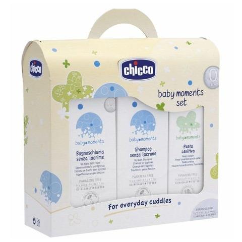 CHICCO Cofanetto Baby Moments Set Bagno