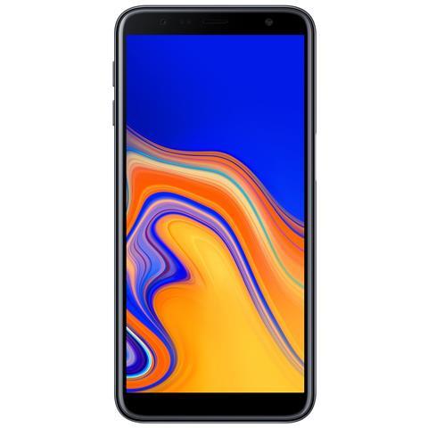 Galaxy J6+ Nero Display 6'' HD Quad Core Ram 3GB Storage 32GB +Slot MicroSD Wi-Fi + 4G Fotocamera 13Mpx Android - Tim Italia