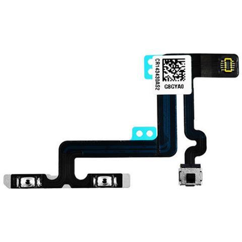 MICROSPAREPARTS MOBILE MOBX-IP6P-INT-6 Volume button flex cable Nero 1pezzo (i) ricambio per cellulare