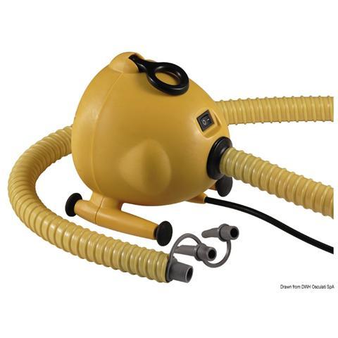 Gonfiatore elettrico 220 V 1600 l / min 600 W