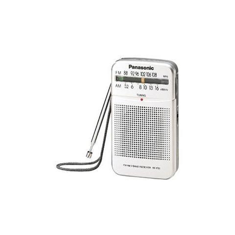 PANASONIC Radio Portatile AM / FM RF-P50 Colore Bianco