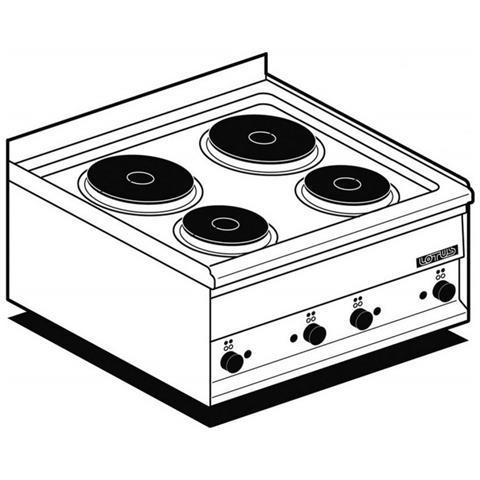 Fornelli Elettrici Professionali Afp / Pc-2et