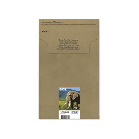 Image of 24XL Multipack Easy Mail Packaging - Confezione da 6 - nero, giallo,