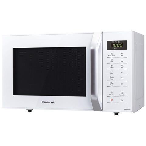NK-35HWMEPG Forno a Microonde Combinato con Grill Capacità 23 Litri Potenza 800 Watt Colore Bianco
