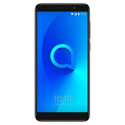 """ALCATEL 3X Nero Metallizzato 32 GB 4G / LTE Dual Sim Display 5.7"""" HD+ Slot Micro SD Fotocamera 13 Mpx Android Italia"""