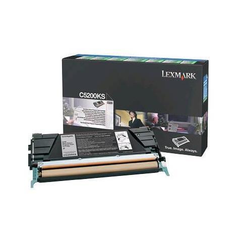 Image of 00C5200KS Toner Originale Nero per Lexmark C530 / C530dn Capacit