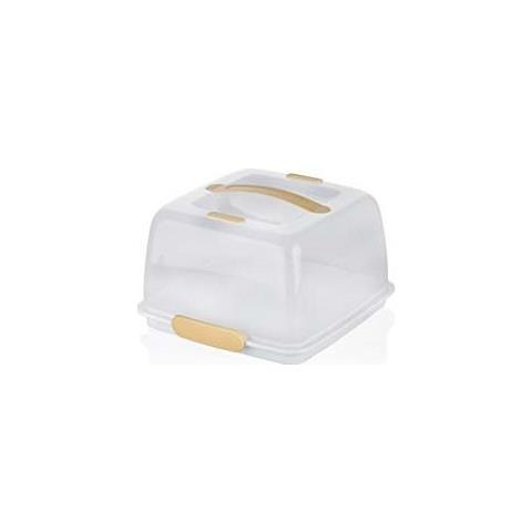 Porta torta c / tavoletta refrigerante delicia 28x28cm